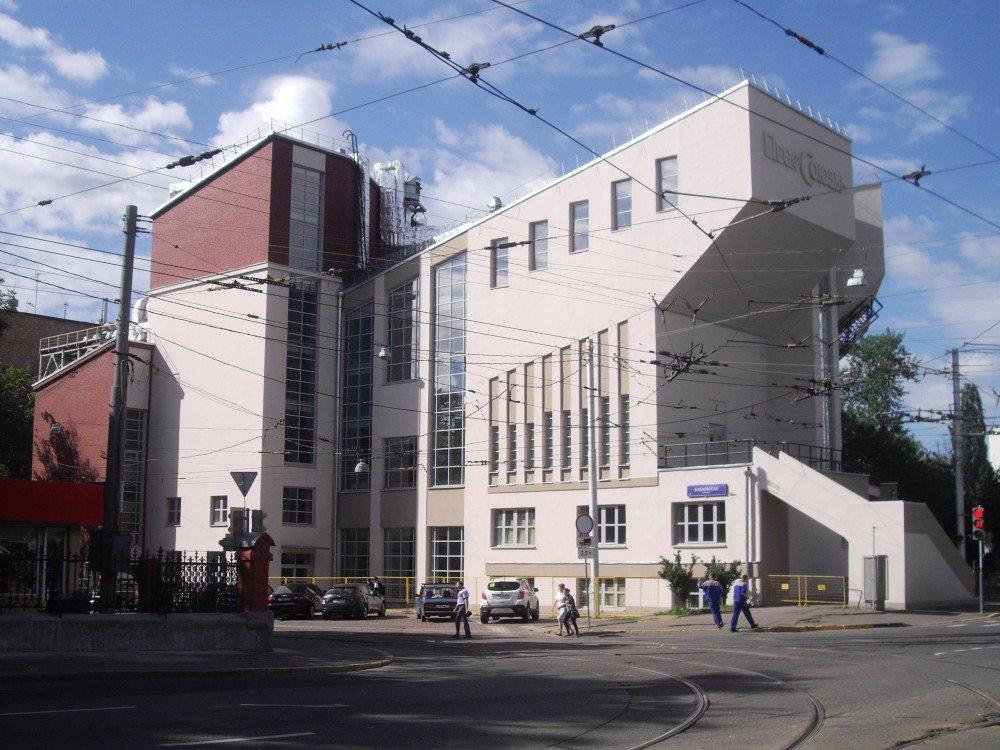 Konstantin Melnikov's Rusakov Worker's Club Moscow