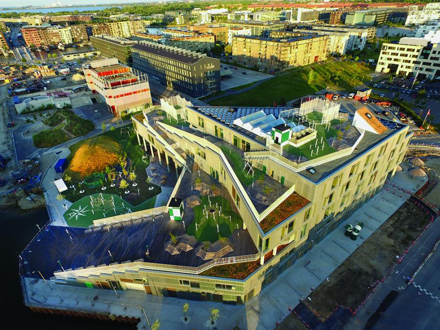 Guiding Architects | Copenhague | L'école de Sydhavnen