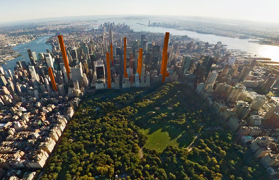 Guiding Architects | New York skyline