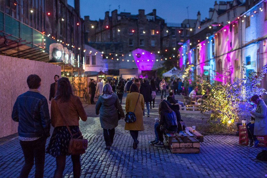 Guiding Architects | Festival d'architecture 2016 Glasgow - Hidden Door Festival