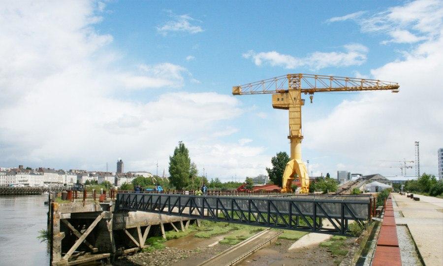 Guiding Architects | île de Nantes - Le parc des Chantier (credits: Aurélien Boyer)