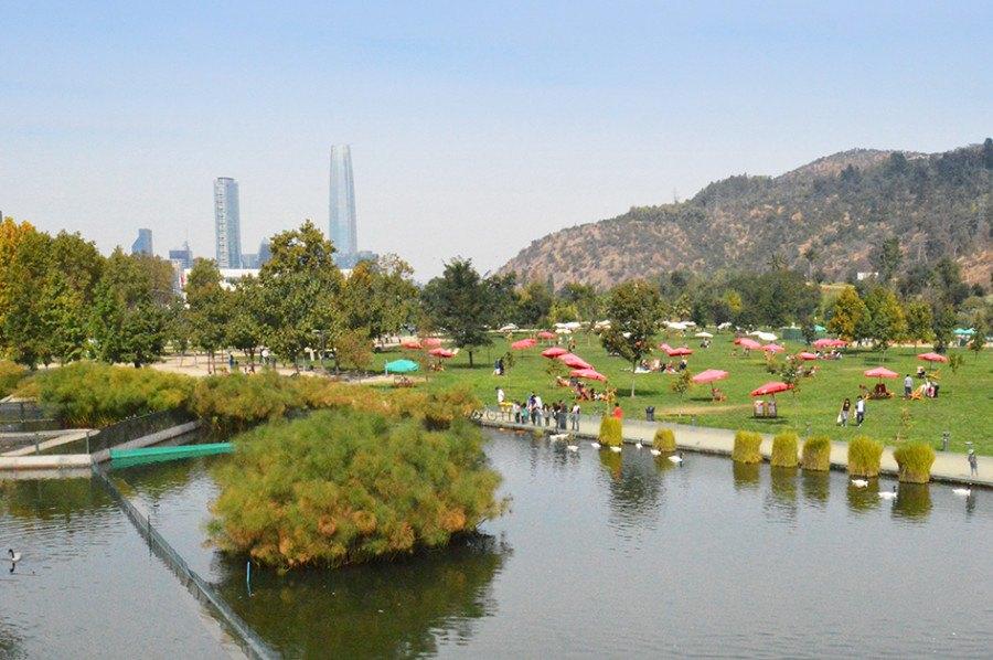 Guiding Architects | Santiago de Chile - Bicentenario Park