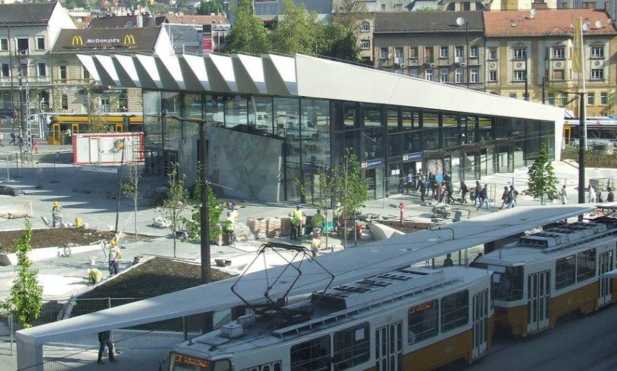 Guiding Architects | Budapest architecture tours - Széll-Kálmán-Platz