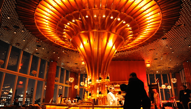 Top of the Standard, a cocktail bar in New York