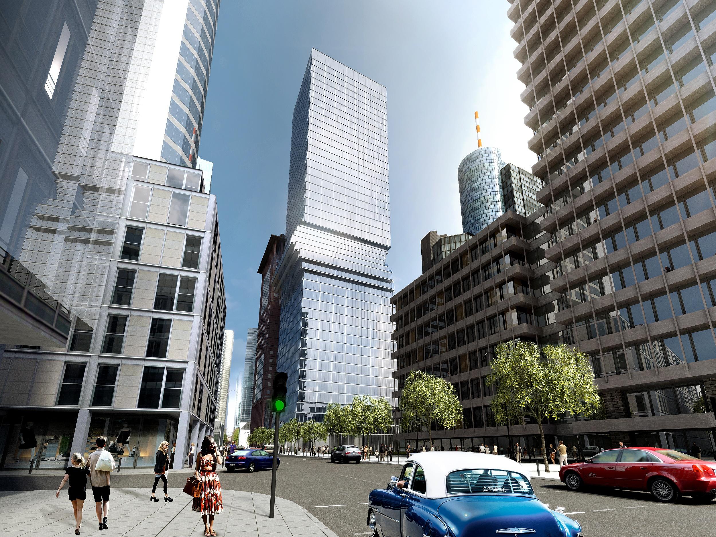 Housing fuels a new high-rise town in Frankfurt am Main
