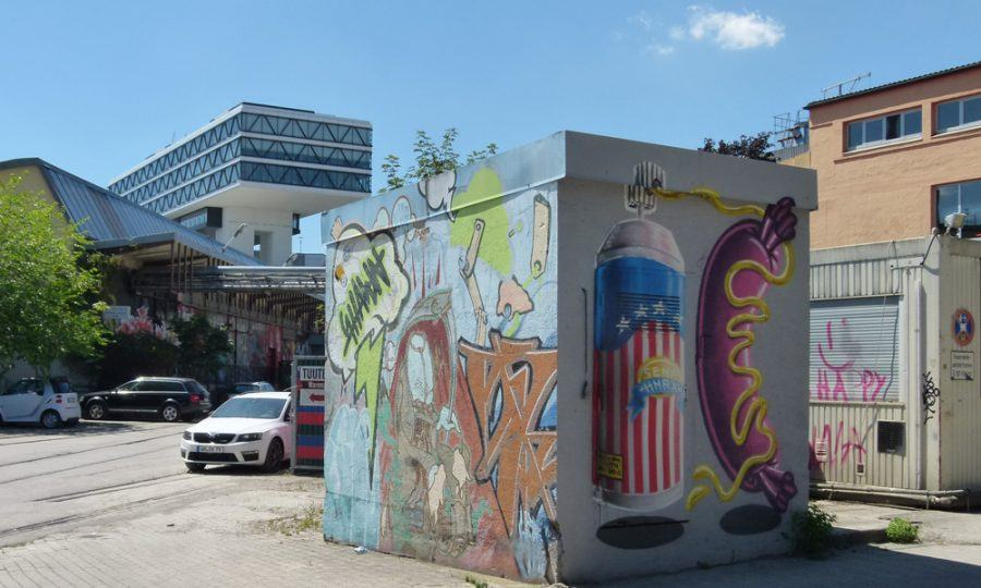 Munich's Art District is close by. Copyright: Claudia Neeser.