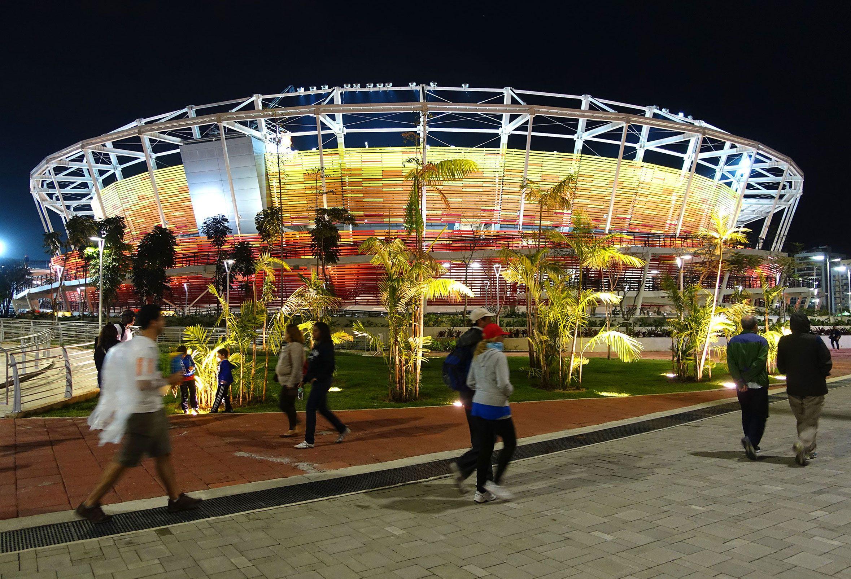 Tennis Stadium at the Olympic Park of Rio de Janeiro