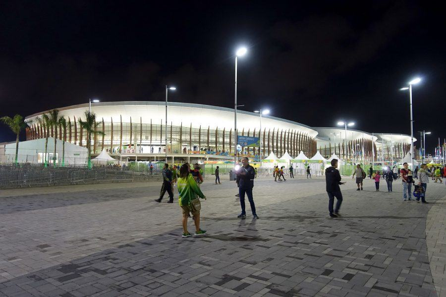 Arena Carioca 1, 2 and 3, at Rio's Olympic Park. Copyright: Barbara Iseli