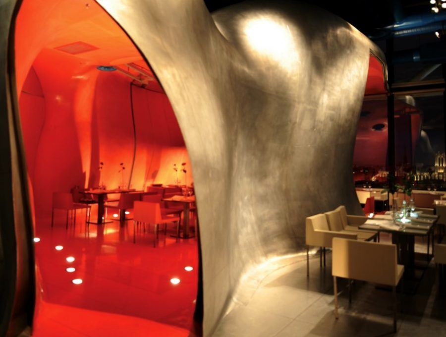 One interior perspective of the restaurant. Copyright: All rights reserved.