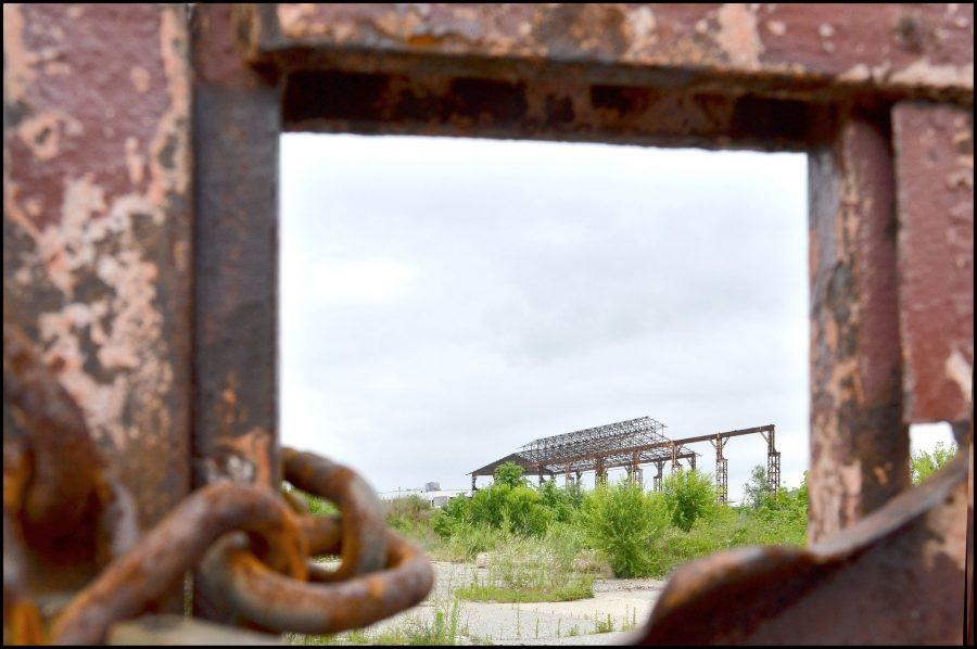 """""""Aicciaierie Mandelli"""", a former steelworks company. Copyright: Bruna Biamino for Urban Center Metropolitano."""
