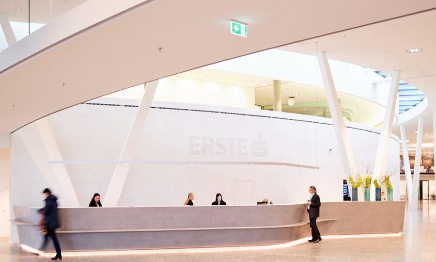 Erste Campus' Atrium