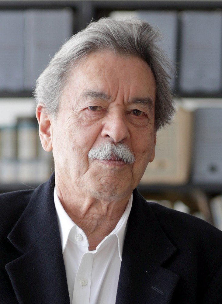 The Brazilian architect Paulo Mendes da Rocha.