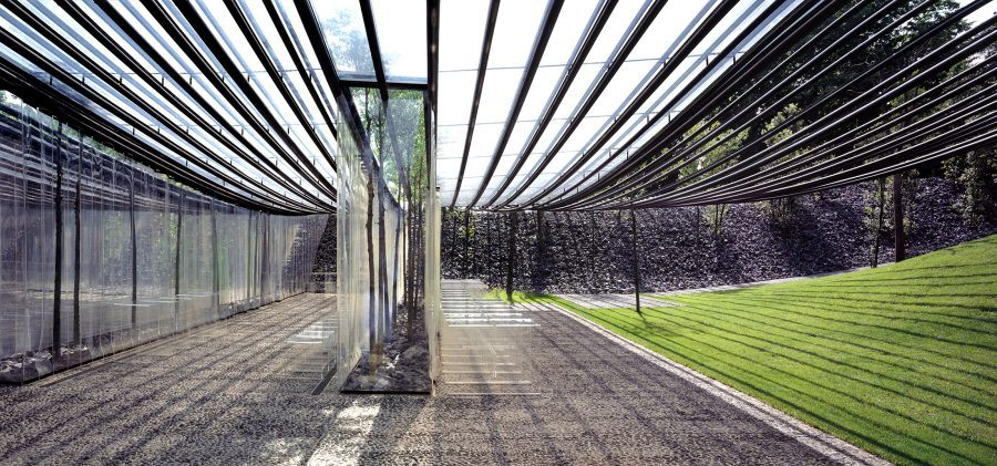 """All lines and textures at Les Cols (which is Catalan for """"the sprouts"""") aim to evoke life in the open air."""