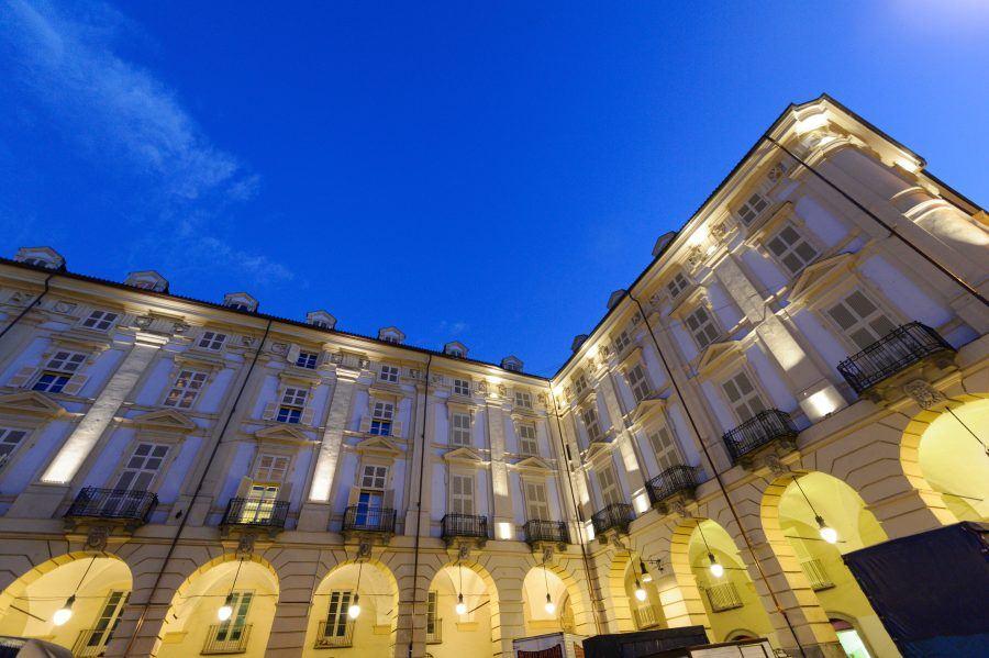 """Vivo al venti"", one of the social housing building in Turin."