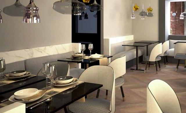 A perspective already available on Michelin chef Antonino Cannavacciuolo's next restaurant.