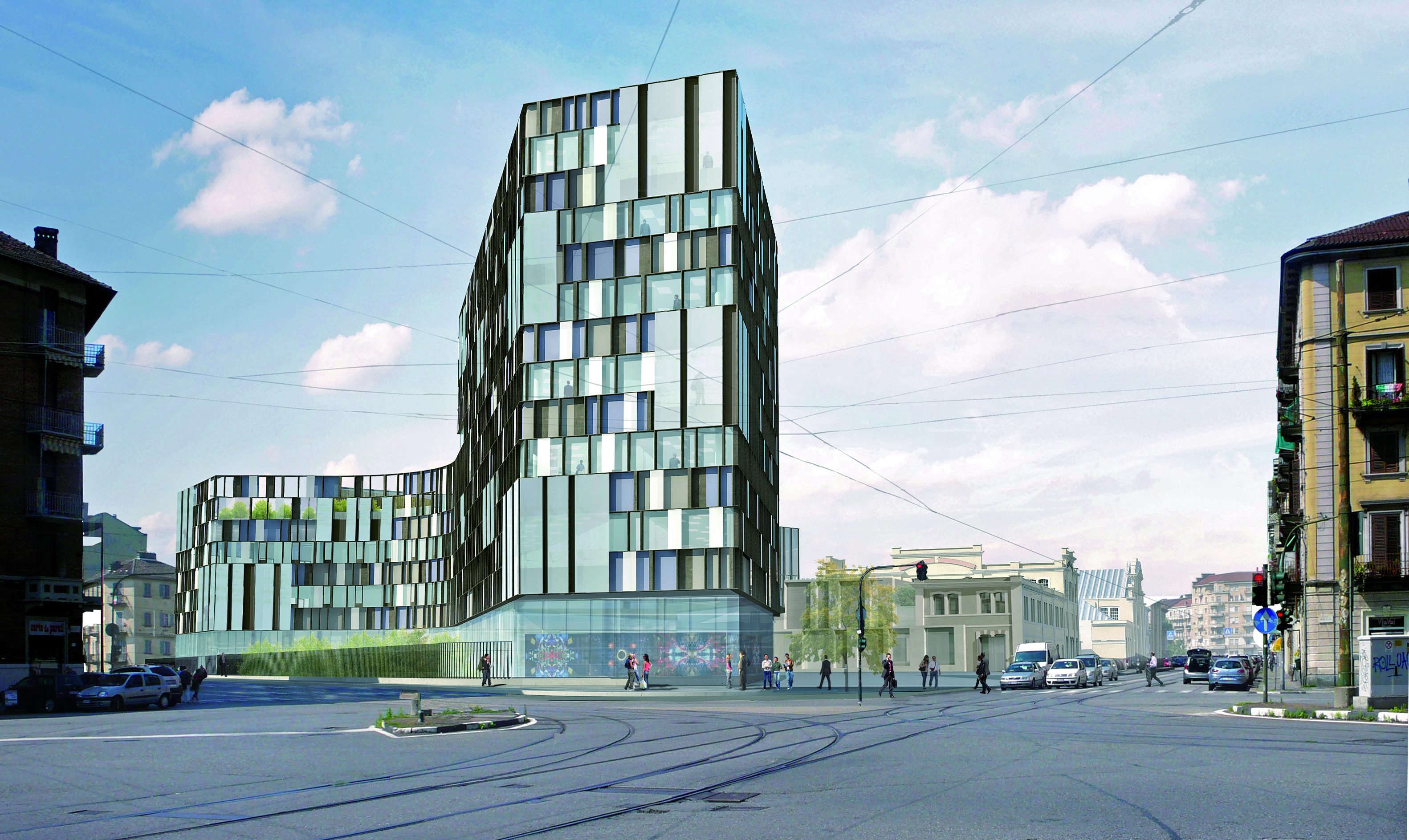 The new Lavazza headquarters in Aurora neighborhood, in Turin, will host a restaurant by Catalan brothers Ferran and Albert Adrià.