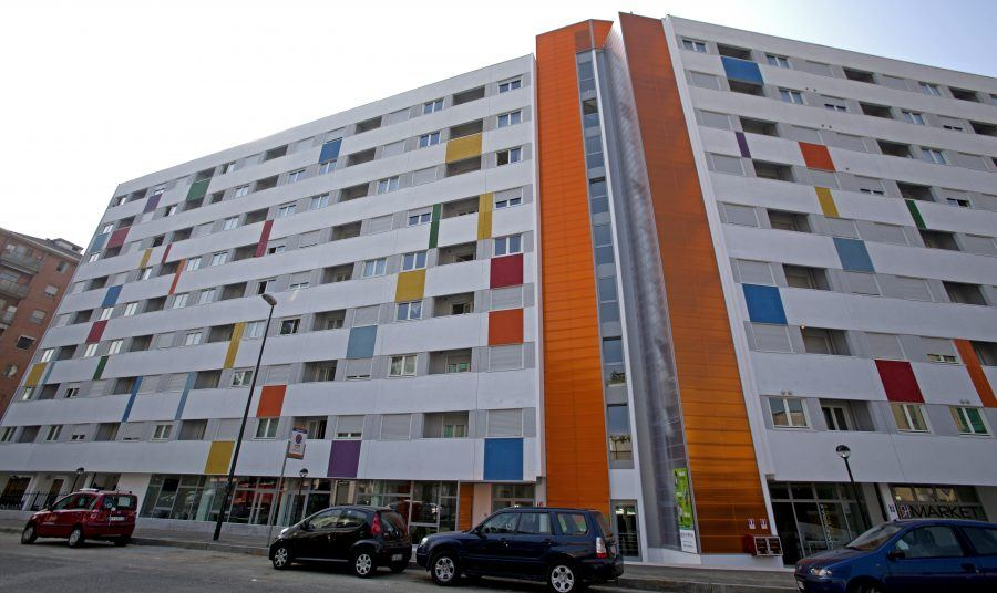 "Social housing ""Sharing Torino""."