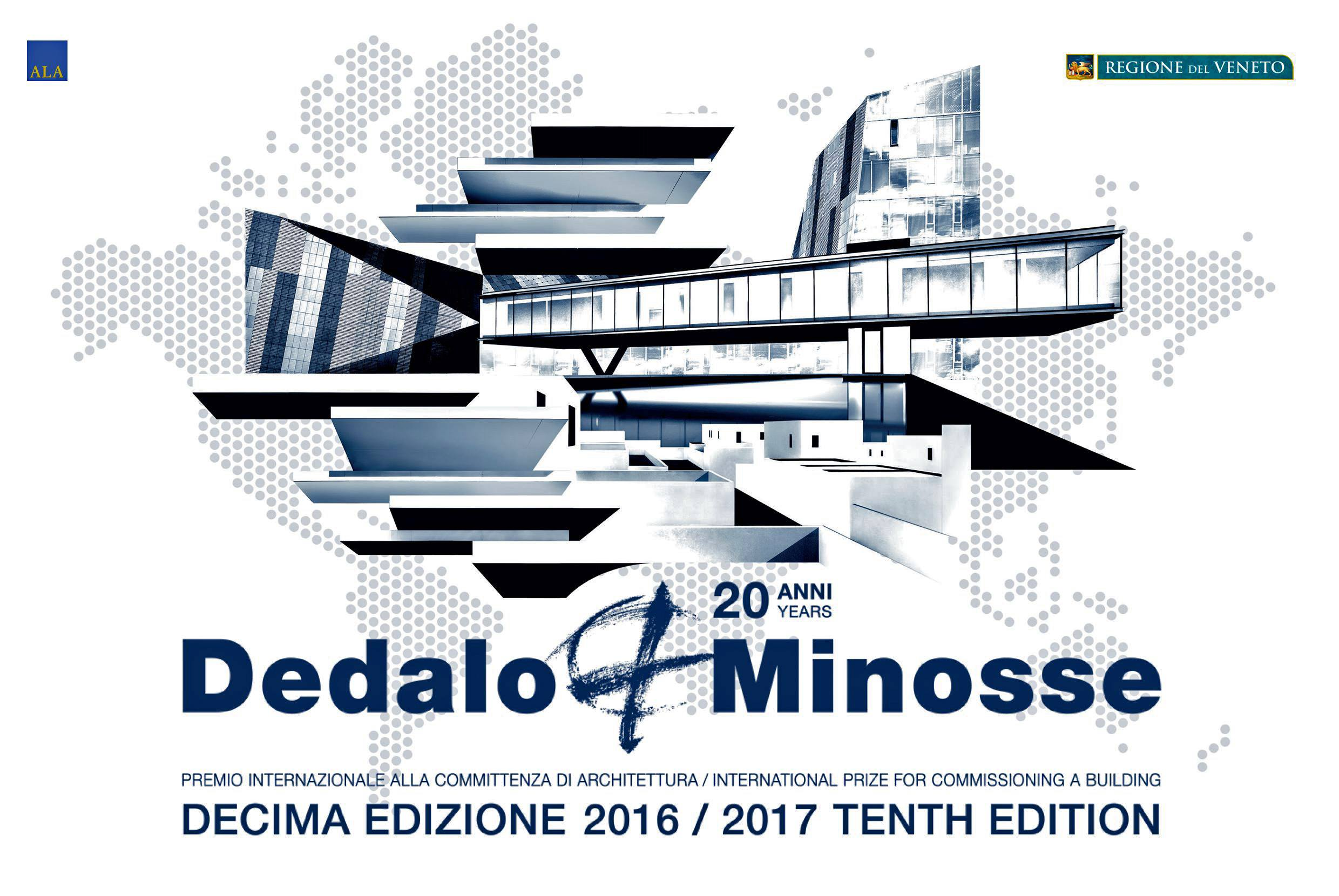 The logo for Dedalo Minosse International Prize.