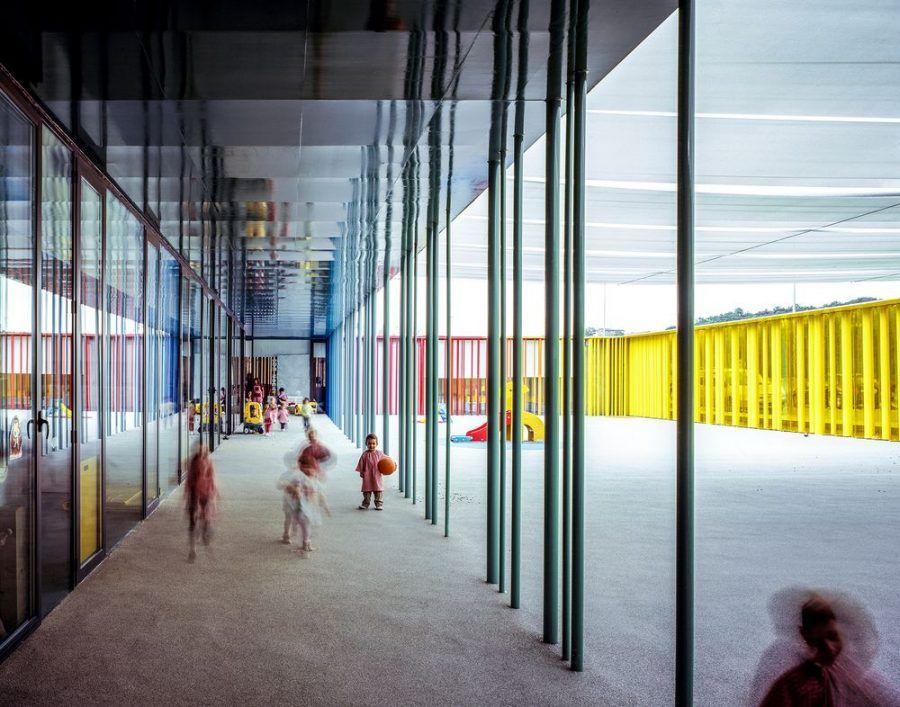 """El Petit Comte"" kindergarten, 2010, Besalú, Girona, Spain, in collaboration with J. Puigcorbé."