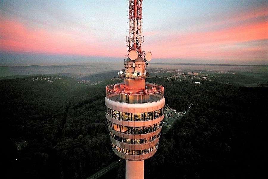 Television tower Stuttgart.