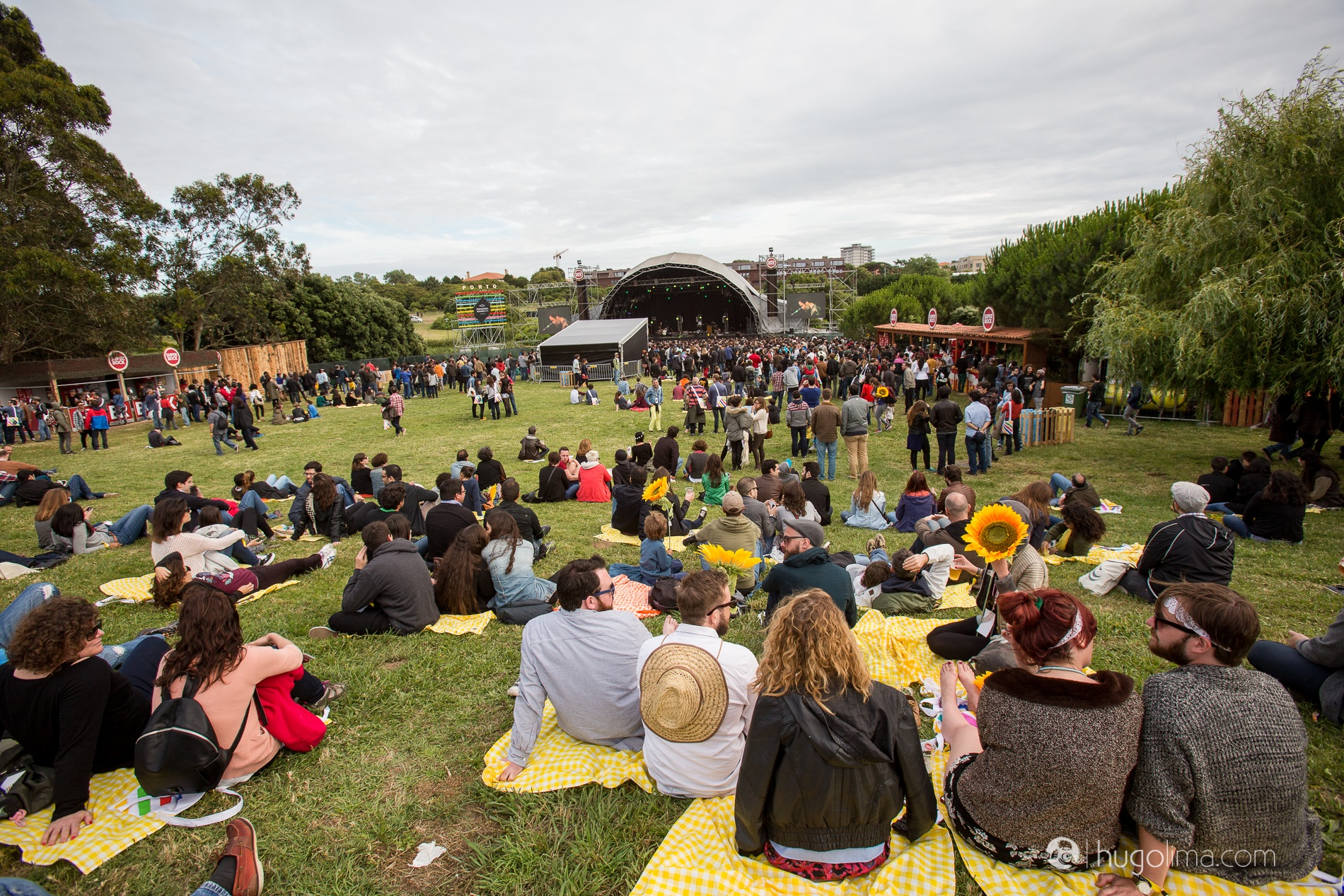 """Waiting for a concert to start at """"Parque da Cidade"""", as the locals call Oporto's largest green park."""