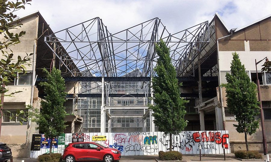 The new Fine Arts school will reserve 4,300 m² for workshop spaces. Copyright: Aurélien Boyer.