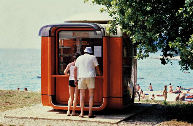 The famous K67 Kiosk, by architect and designer Saša J. Mächtig. Copyright: Museum of Architecture & Design, Ljubljana.