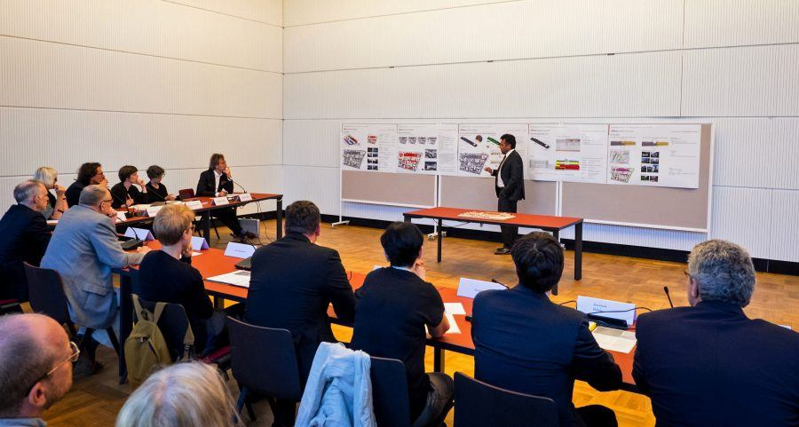Baukollegium's presentation. Copyright: Lidia Tirri.
