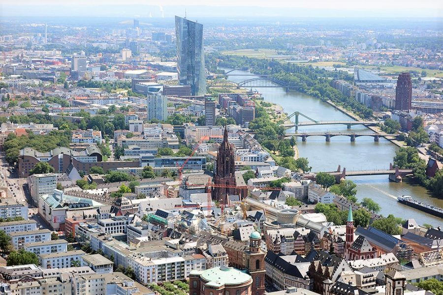 The city of Frankfurt is continuously changing. Copyright: Andrea Schwappach for ga frankfurt.