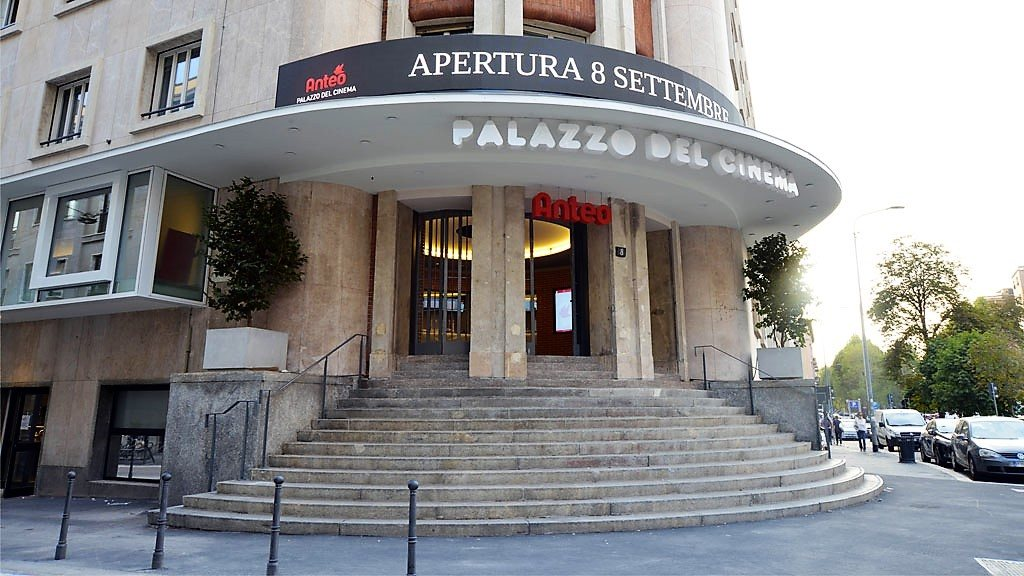 The Anteo Palazzo del Cinema just before its reopening in September 2017. Copyright: All rights reserved for Milano Design Film Festival.