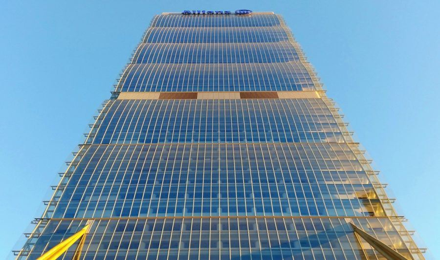 The Allianz tower, designed by Arata Isozaki. Copyright: Massimo Tiano.