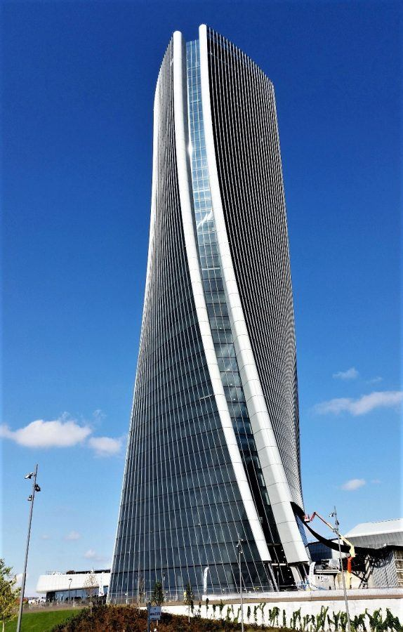 The Generali tower, by Zaha Hadid. Copyright: Massimo Tiano.