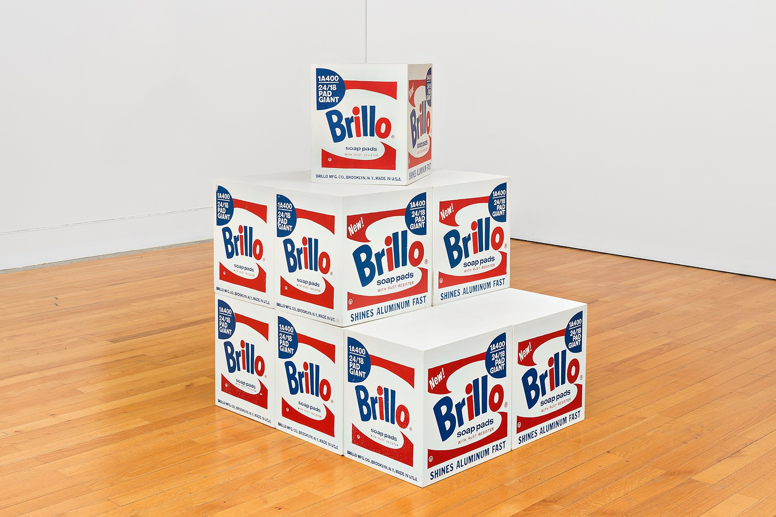Brillo Box. 964-68. Screenprint and acrylic on plywood. Museu Coleção Berardo, Lisbon. Copyright: 2017 The Andy Warhol Foundation for the Visual Arts, Inc. / VEGAP.