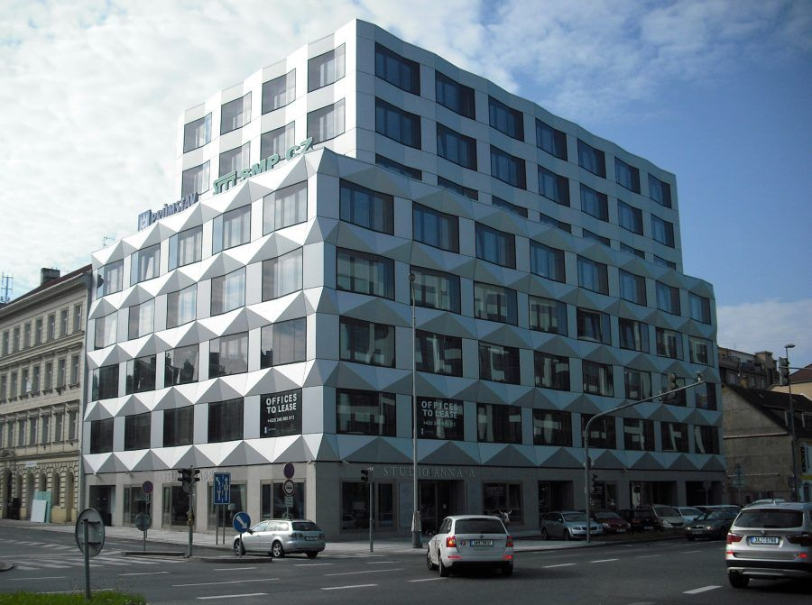Architects from all over Europe are participating: Keystone Building, EM2N, Switzerland. Copyright: Praguearchiguide.