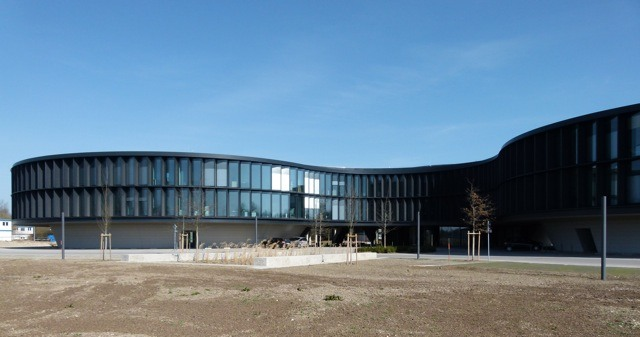 View of the new addtition of the ESO Headquarters by Auer and Weber. Copyright: Claudia Neeser.