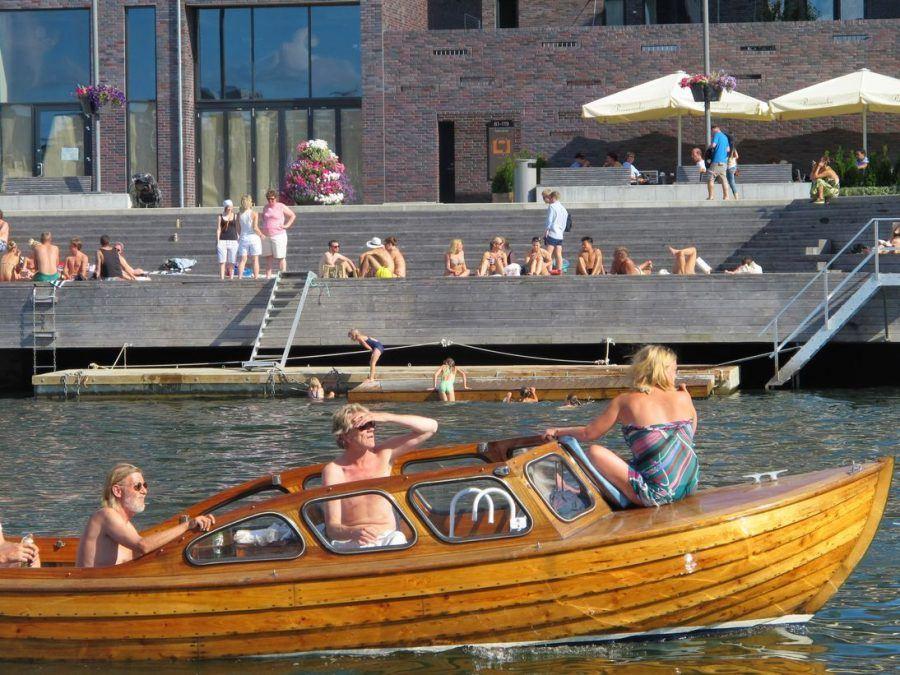 Urban transformation in Oslo: Summer in the city. Copyright: Henning Nielsen.