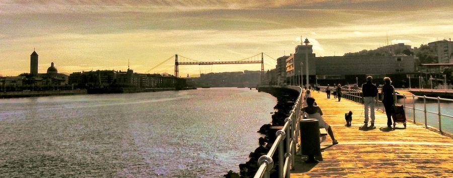 "The so-called ""Muelle de Hierro"", which means ""iron dock"". Copyright: Ayuntamiento de Portugalete."