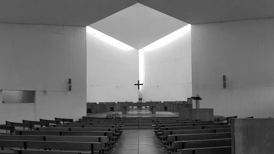 Axe Central de la Chapelle du Monastère Bénédictin