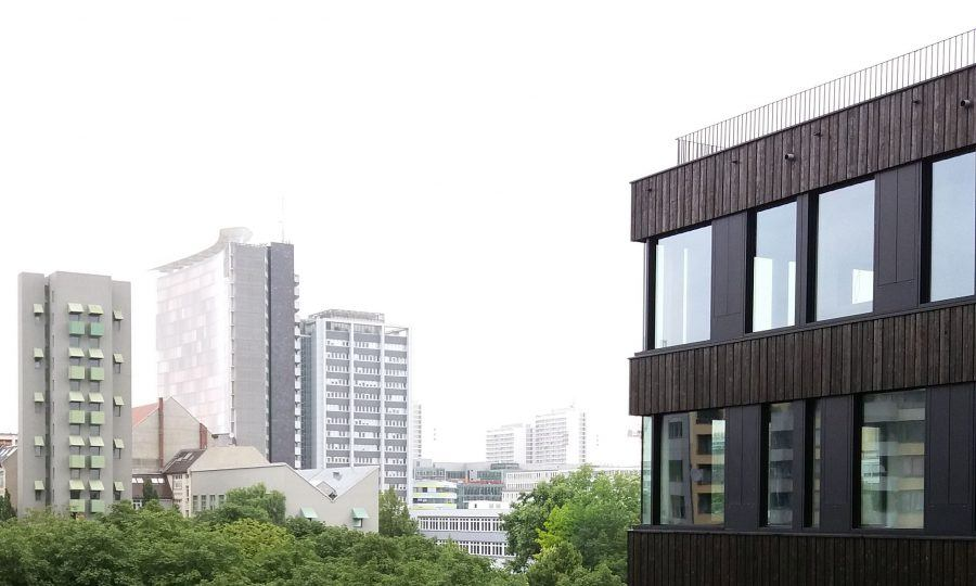 View from Frizz 23 over the southern Friedrichstadt - Guiding Architects
