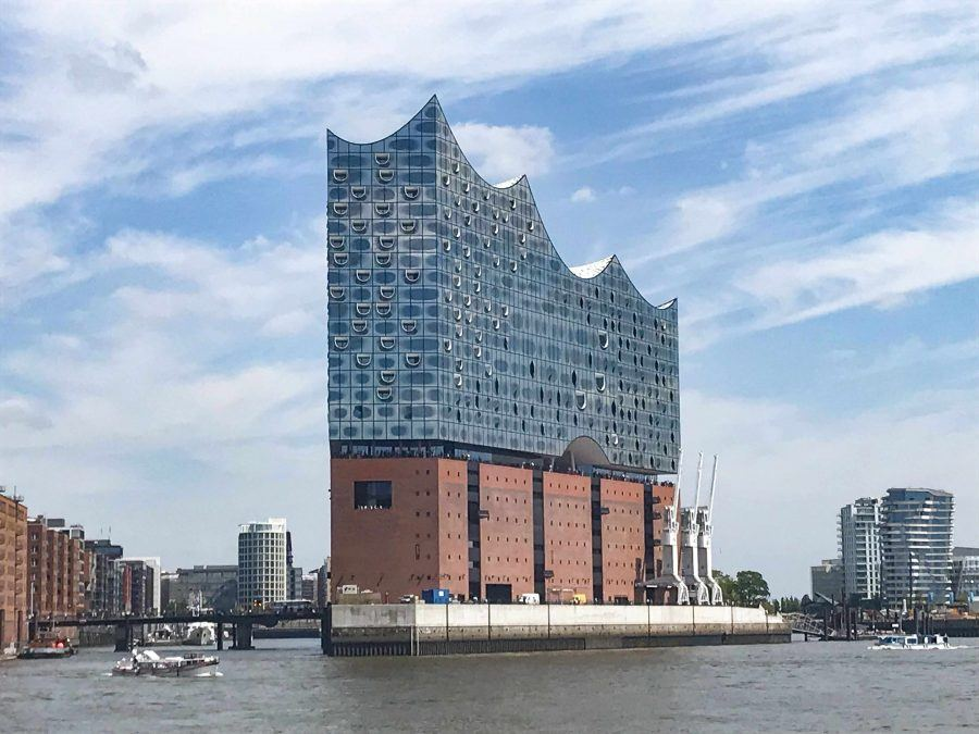Elbphilharmonie view from docks - Guiding Architects