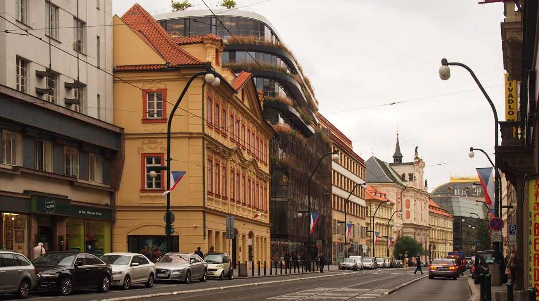 "The new building named ""The Turf "" in the city centre of Prague - Guiding Architects"