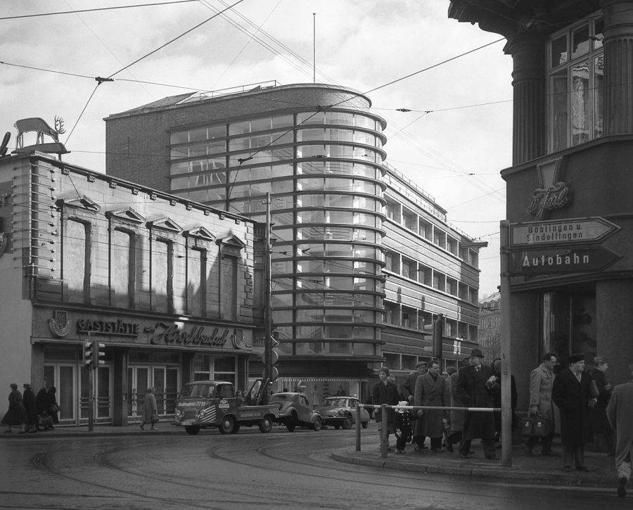 View of the Schoken department store - Guiding Architects