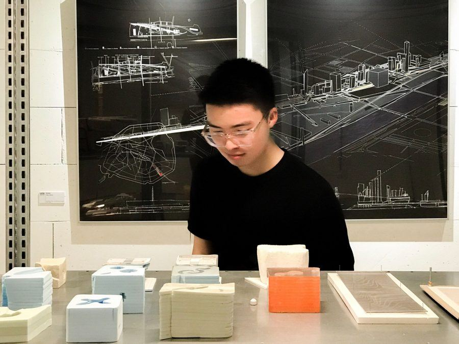 3D printed scale models: UNStudio Amsterdam - Guiding Architects