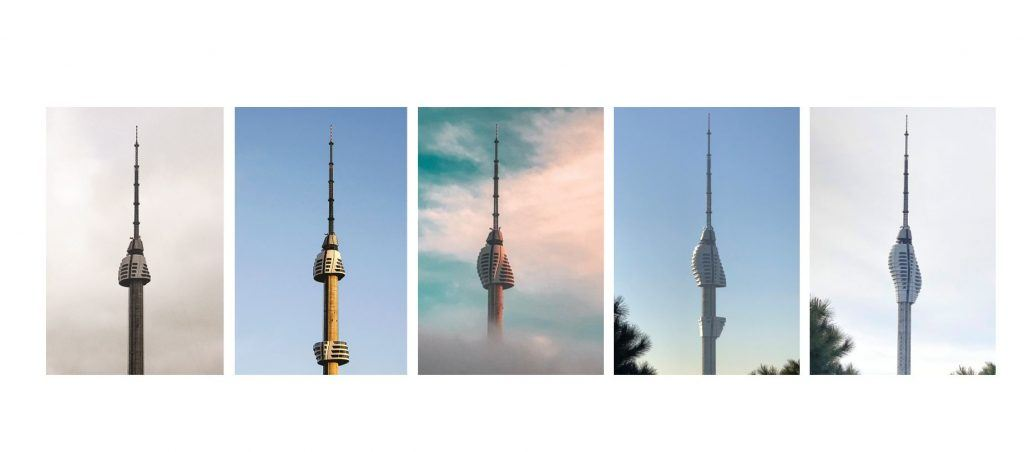 Istanbul TV & Radio Tower Construction Timelapse. Photo by ©Melike Altinisik Architects