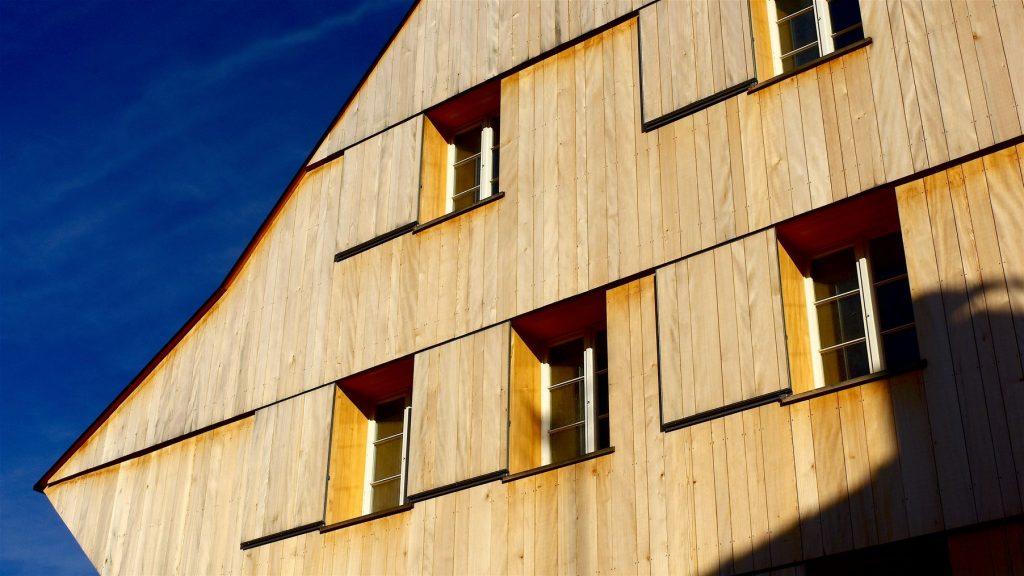 Austria, Vorarlberg & Bregenz: STUDENT HOME DORNBIRN – SUMMER 2020 (Ludescher+Lutz Architekten). Willem Bruijn ©onehundredyears.eu
