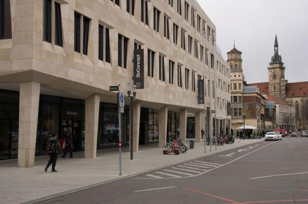 Dorotheenquartier Stuttgart. Photo by ©Ulrich Kölle