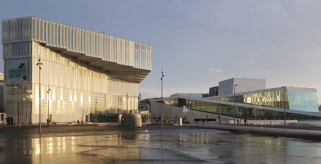 Oslo: Deichman library. Photo by ©Henning Nielsen
