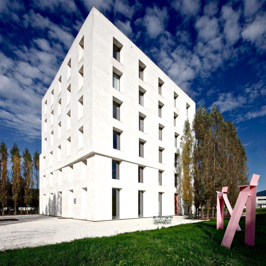 House 2226 Lustenau - Vorarlberg Austria. Baumschlager Eberle Architects. Photo by ©Willem Bruijn onehundredyears