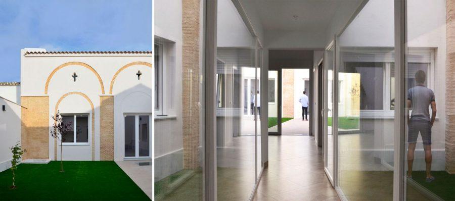 Trasmuros House. Huelva. Photo by ©Ahaus Arquitectos