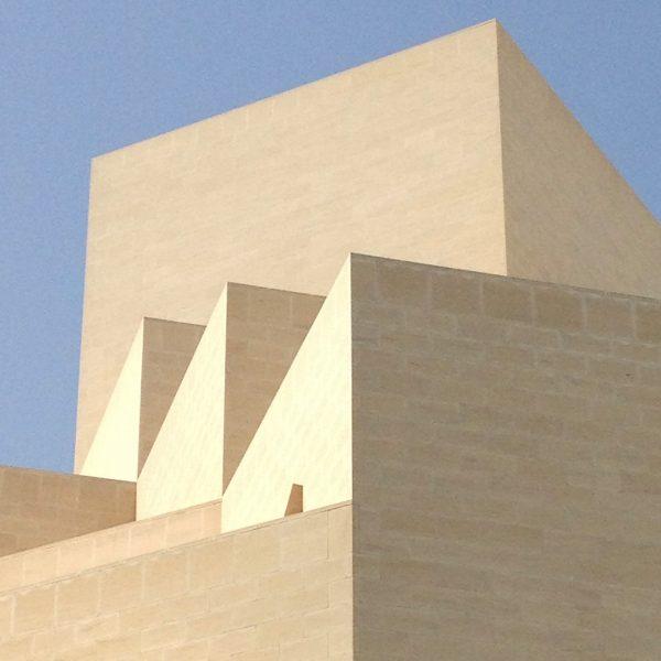 Elevation Detail of the MIA Museum Of Islamic Art, Doha/Qatar/Catar